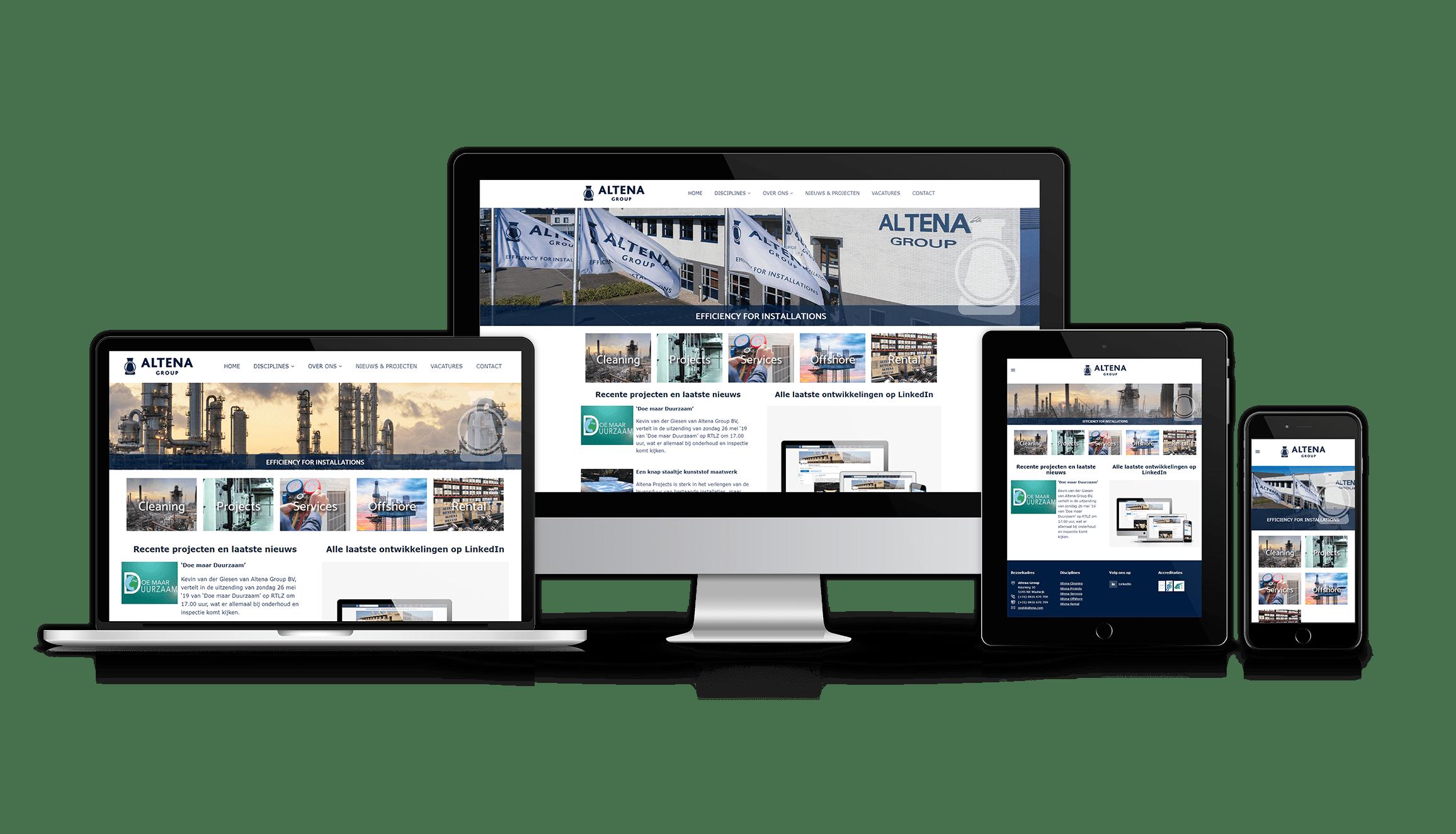 Nieuwe website Rotterdam
